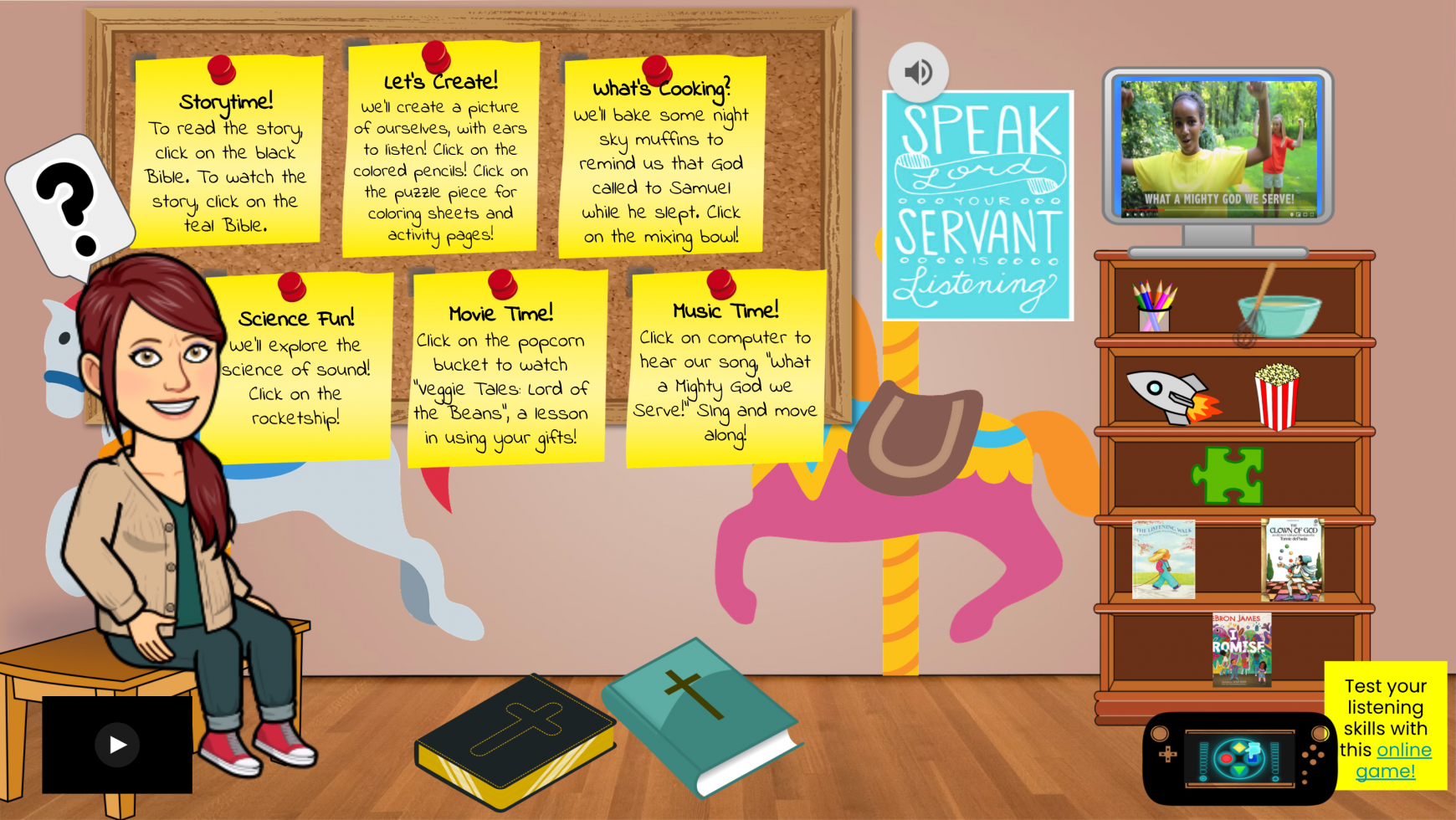 Welcome to our Virtual Christ's Carousel classroom!