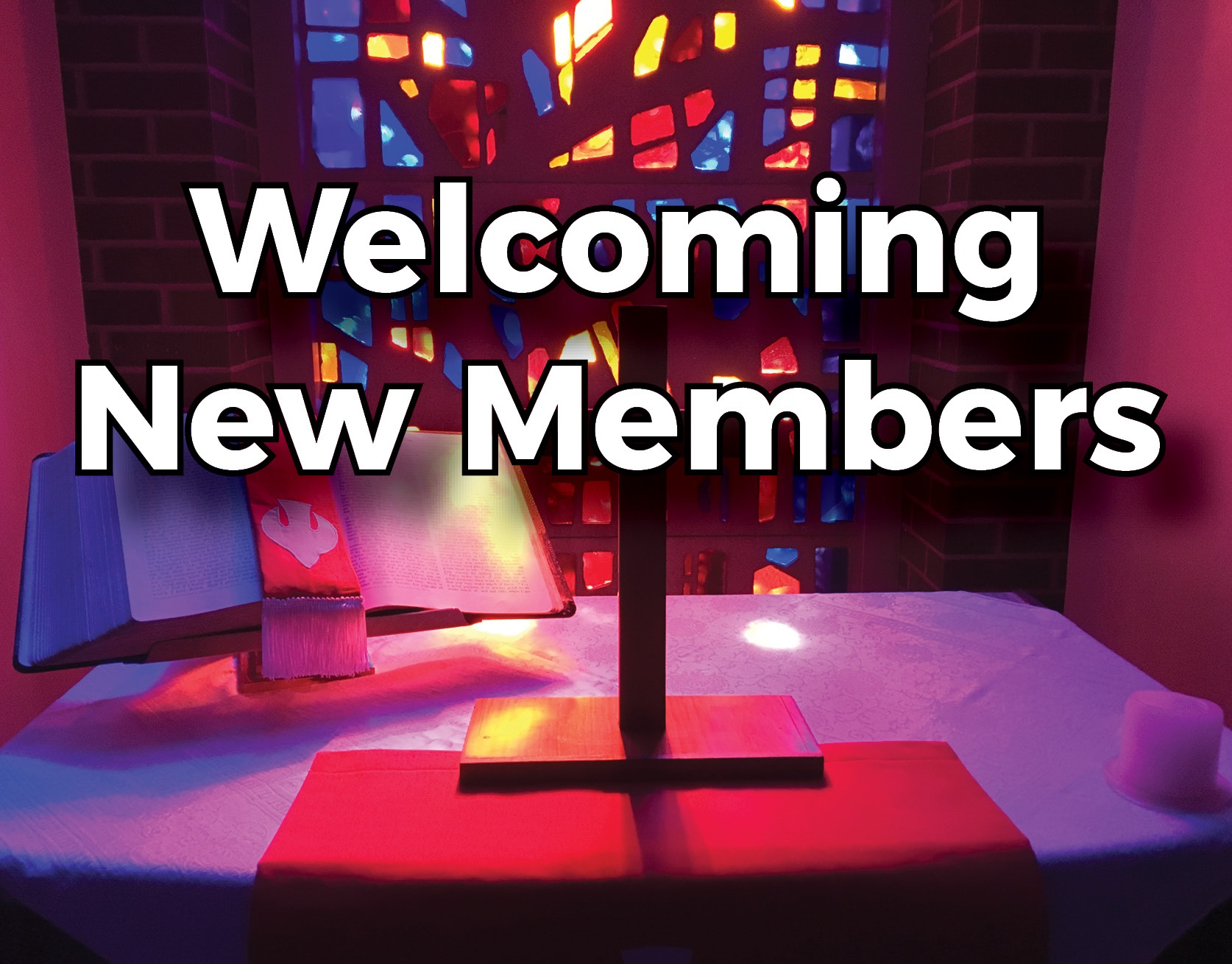 Welcoming New Members