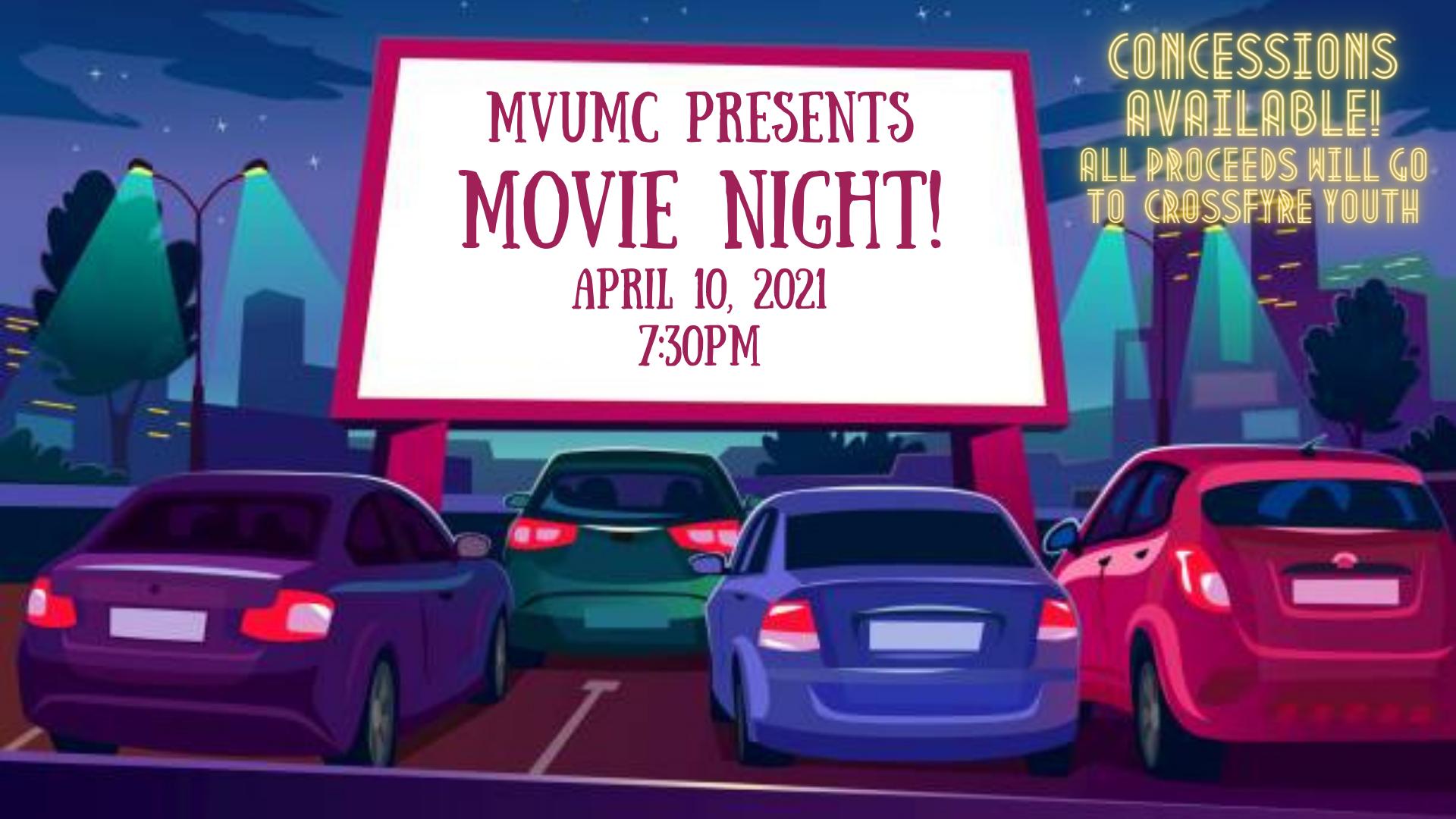MVUMC Movie Night!