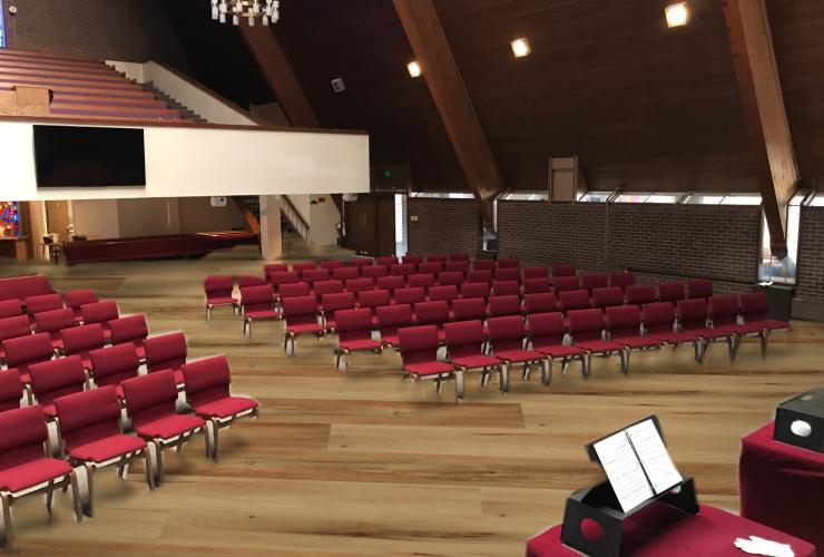 Sanctuary Flooring Update
