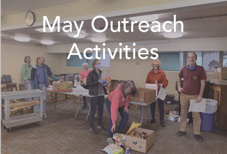 May Outreach Activities